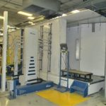 """B-274: Nordson Colormax 2 Powder Booth System New in 2014, 4' wide x 6'-6"""" high"""