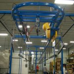 C106: Unibilt Enclosed Track Overhead Conveyor System