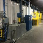 W-150: 3-Stage Koch Stainless Steel / FRP Washer