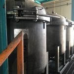 FV 181: 	4, 6, & 8-Filter, Stainless Steel Multi-Bag Filter Housings, Multi Bag Filter Vessel