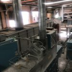 P-244 Complete Spindle Powder Coating System w/ Nordson Reclaim Booth, BGK Oven, Etc
