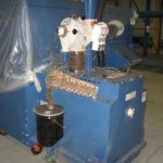 PBC-52: Nordson Excel 2001 Color Module with Azo Sieve & Hopper, Nordson Powder