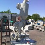 PBC-68: ITW Gema 100/150 lb Powder Coating Hopper w/ Rotary Sieve