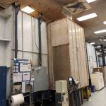 B-288: Nordson 524 Powder Booth System 4' W X 8' Opening