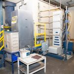 """B-293: Nordson Colormax Powder Booth System 3'-0"""" W x 8'-0"""" H Opening"""