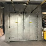 O 195: GFS PASS-THOUGH POWDER COAT CURING OVEN